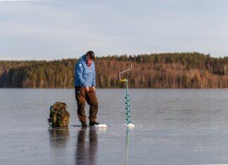 Wędkarstwo a zima